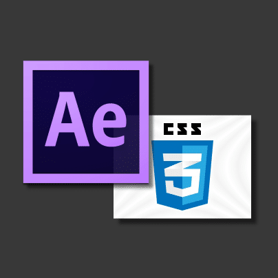 After Effects to CSS3 | Creative tool development for After