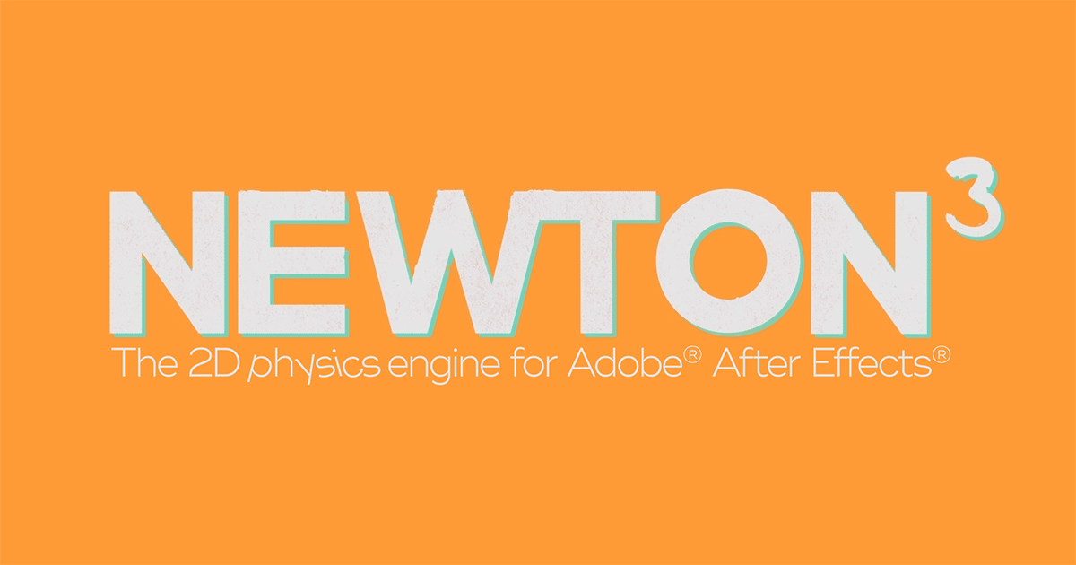 Motion Boutique Newton for After Effects v3.0.69 - Free download